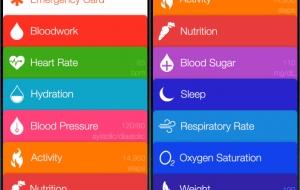 iOS 8 krijgt Healthbook-app