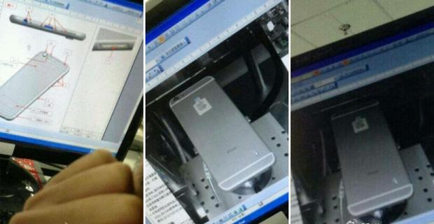 Nieuwe iPhone 6 foto's bij Foxconn uitgelekt