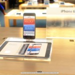 iPhone 6 in Apple Store vooraanzicht