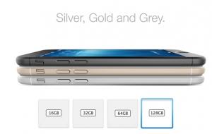'iPhone 6 krijgt 128GB-versie'