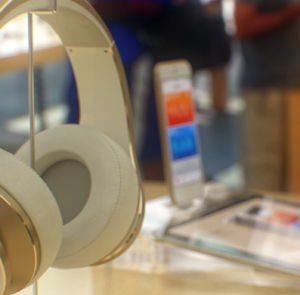 Hoe ziet de iPhone 6 er in de Apple Store uit?