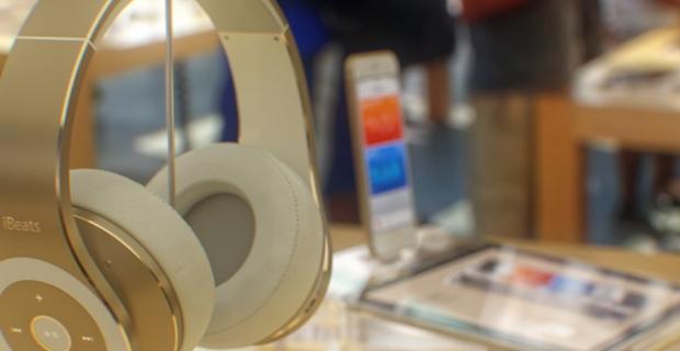 Hoe ziet de iPhone 6 er in de Apple Store uit?