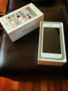 iphone6 verpakking in box
