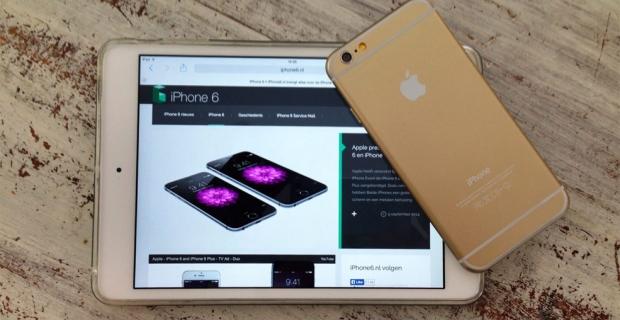iPhone 6 verkoop van start